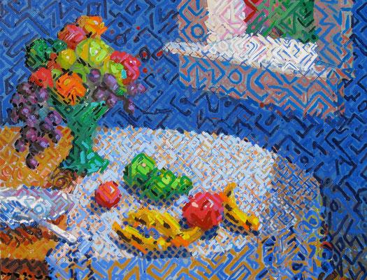 """Stil Life"", 2010, Oil on canvas"