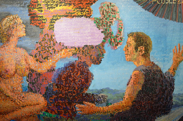"""""""Revelation 2"""", 2010, Oil on canvas"""