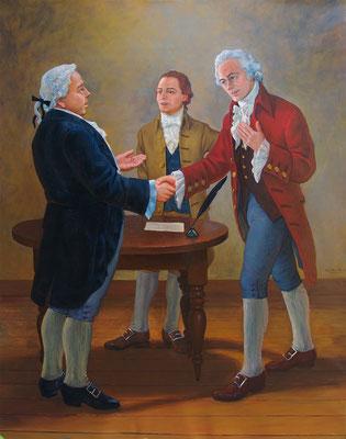 Ratification of Constitution, Poughkeepsie Court House, Poughkeepsie, New York
