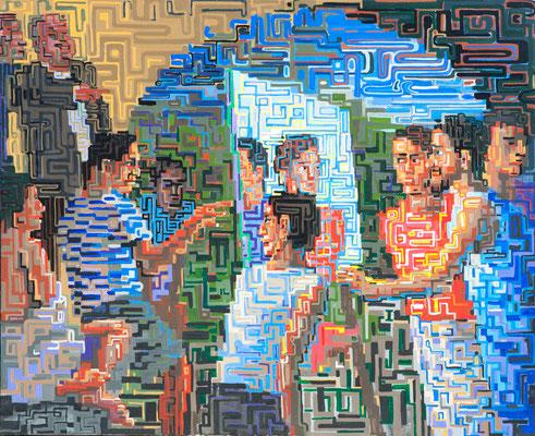 """""""Revelation"""", 2010, Acrylic on canvas"""