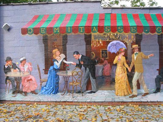 Demitasse Cafe, Poughkeepse, New York (Detail)