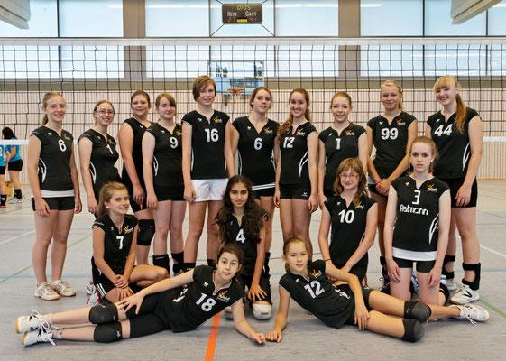 U16 Geesthacht1 und Geesthacht2 2012/13