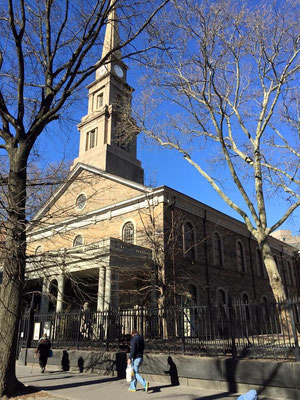 Estados Unidos | Nova Iorque - St. Mark's Church in the Bowery