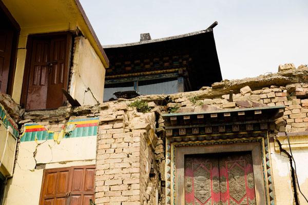 Monastère attaché au temple de Swayambhu (Kathmandu)