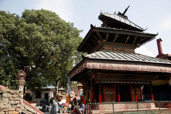Temple entre Thamel et Swayambhu - Kathmandu