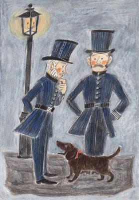 ジョージ巡査とルイス巡査、そしてデリー
