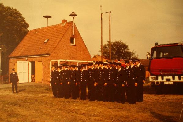 Gerätehaus vor 1980