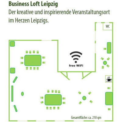 Business Loft Leipzig, Hainstraße 11, 04109 Leipzig (Baumgarth Consulting)