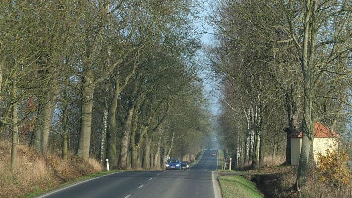 Auf dem Weg nach Eger