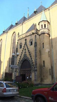 Eingangsportal Stadtpfarrkirche St. Niklas in Eger