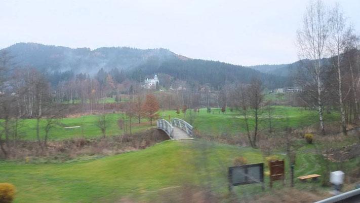 Unterwegs zum Kloster Novy Dvur
