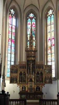 3-flügeliger Altar (stammt aus Regensburg)