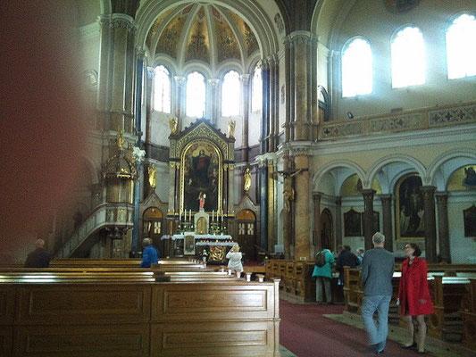In der Marienbader Kirche von 1848