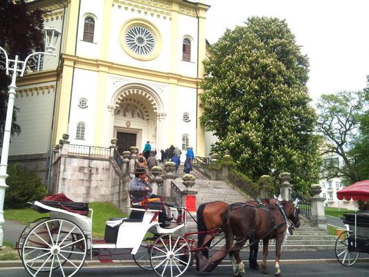 Marienbader Kirche von 1848