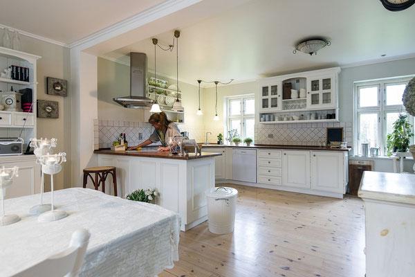 reinigen, saubere Küche