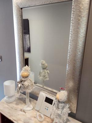 Videoportero VEO-DUOX Plus de Fermax, decoración en gris y plata