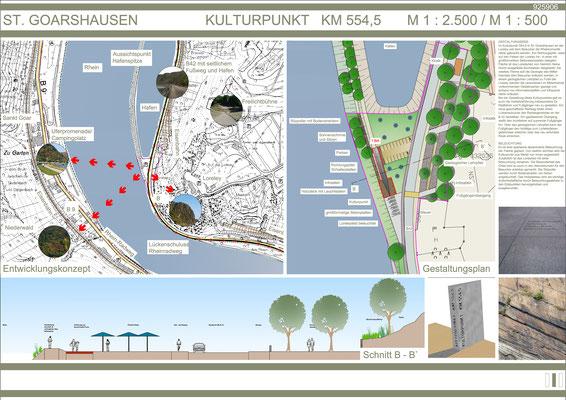 """Gestaltung von """"R(h)ein-Blicken"""" im Mittelrheintal 2009"""