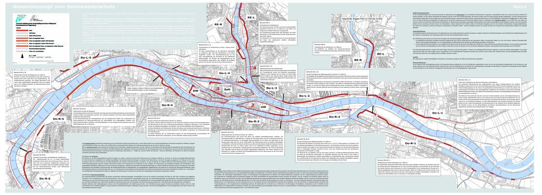 Hochwasserschutz Regensburg 2003