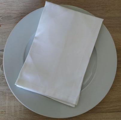 Serviettes de table (option location)