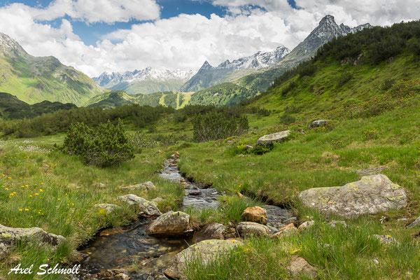 Montafon - Alpenpanorama