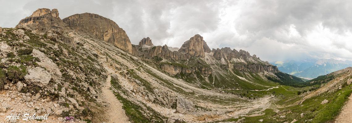 Alpenpanorama Rosengarten