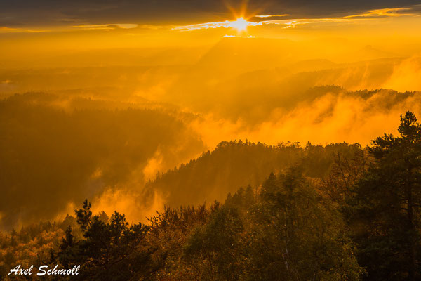 Brennender Nebel II
