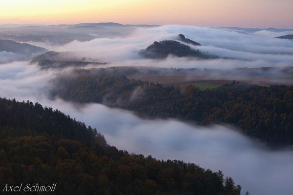 Elbsandsteingebirge- Schrammsteinblick