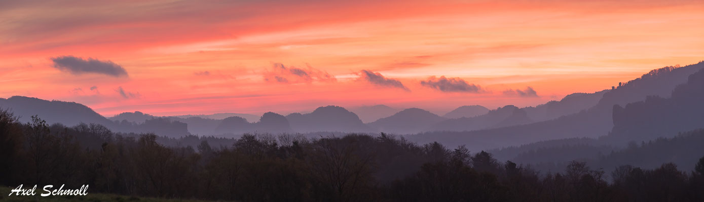 Elbsandsteingebirge (Panorama)