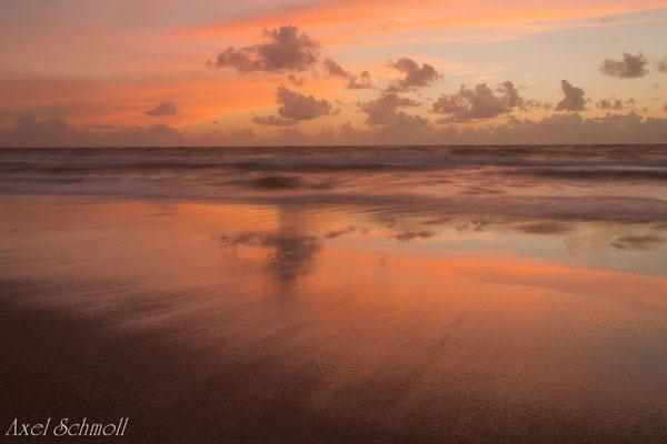 Sylt - Sonnenuntergang bei Westerland