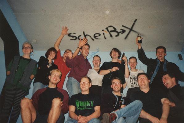 """The Tapsi Turtles, JUZ Hammerschlag, Schorndorf, 28.11.1992 - mit """"The Whisky Priests"""""""