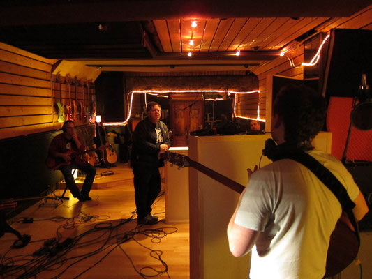 Nico Brettschneider Band, Tonstudio Bieber (Offenbach/Main), Feb. 2014