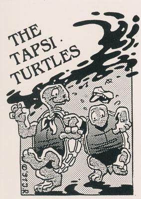 The Tapsi Turtles, Sticker