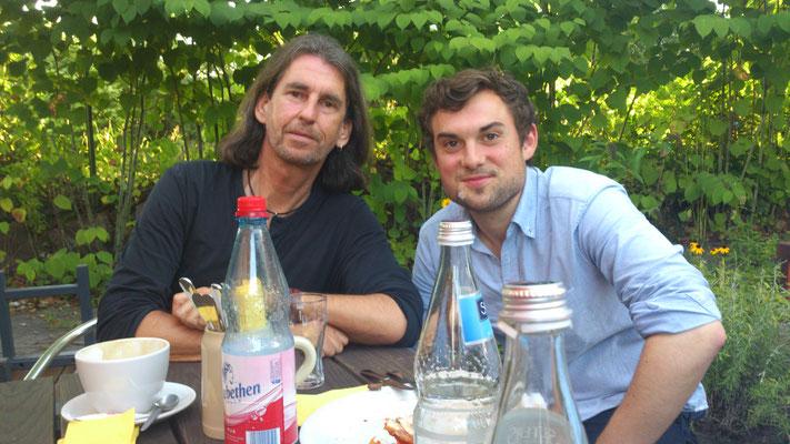 Nico Brettschneider Band, Schanz, Mühlheim/Main, 16.08.2013 - Rüdiger & Nico