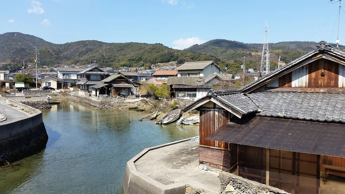 Village at the Seto Inland Sea