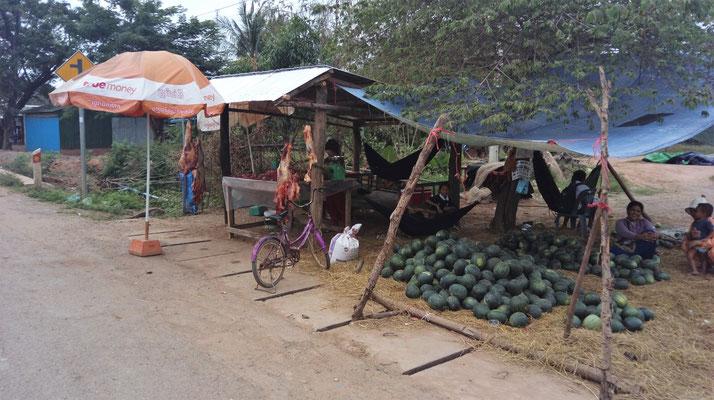 Kambodschanische Metzgerei