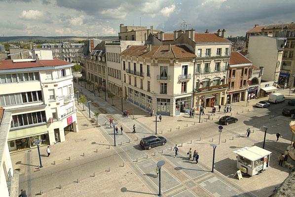 Le centre-ville de Verdun