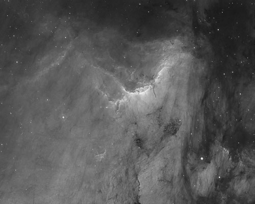 IC 5070, 29.09.16, Germany, HTT, Celestron RASA, SX Trius 694, 19x3min Ha
