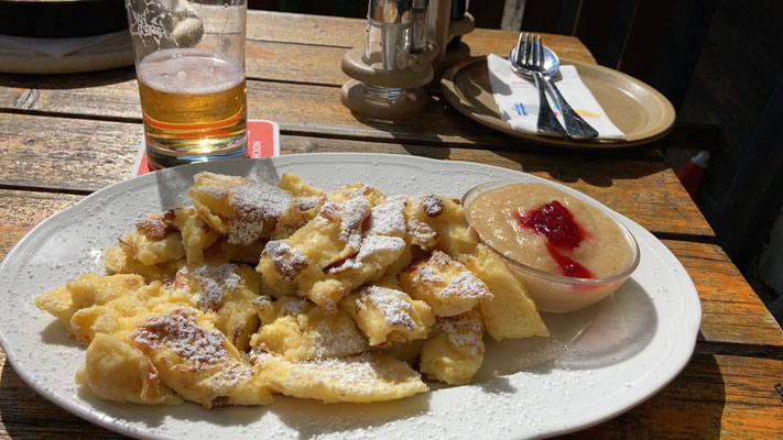 """Kaiserschmarrn"" - that was travelling all that way just for that is a good enough reason!"