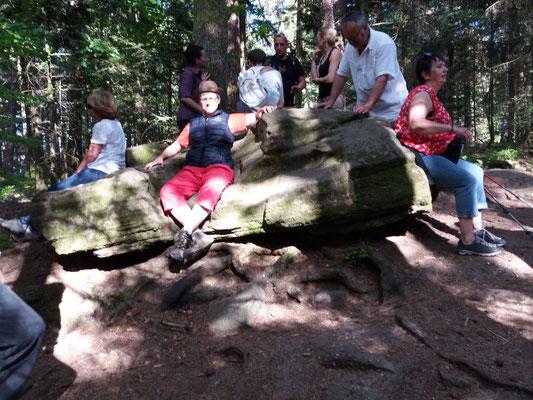 la roche du canapé