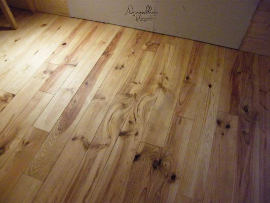 09/2009 - Idem sur le plancher, avec 3 couches d'huile dure.