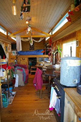 12/2012 - Vue d'ensemble à l'intérieur, travaux terminés, côté salon.