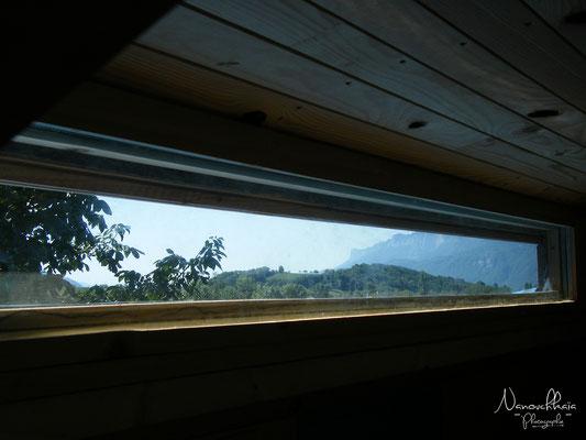08/2009 - Vue depuis les bandeaux vitrés.