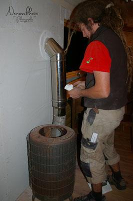10/2009 - Premier feu dans la roulotte :)