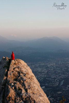 Vue sur Grenoble - Fort Saint Eynard