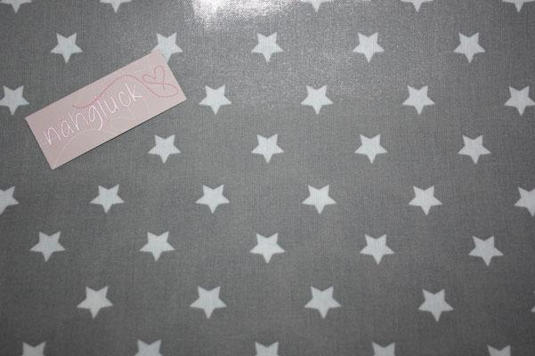 besch. Baumwolle Au Maison: Star big - grey !!