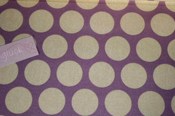 besch. Baumwolle Au Maison - Superdots lavender