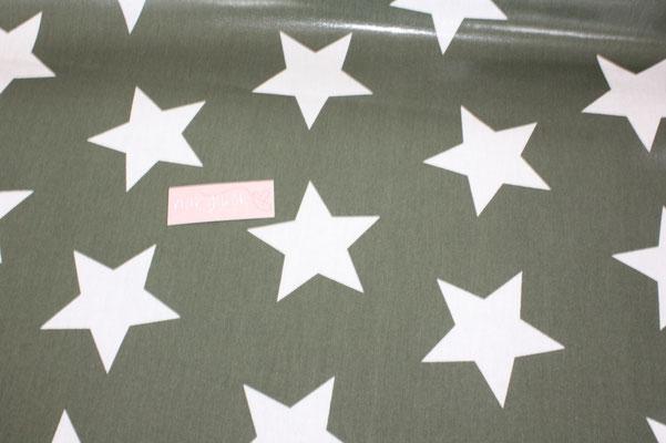 besch. Baumwolle Au Maison : STAR GIANT - Sterne GIANT khaki   AUS ??