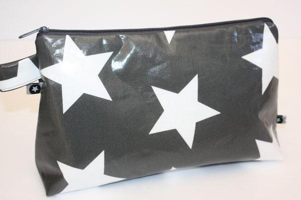 Kulturbeutel besch. Baumwolle Star Giant - charcoal