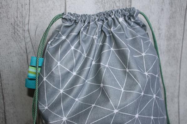 geo-Muster - dunkelgrau