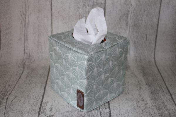 Tücherboxhülle - ALLI verte - noch zu haben